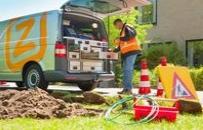 Ziggo-kabel-aanleg