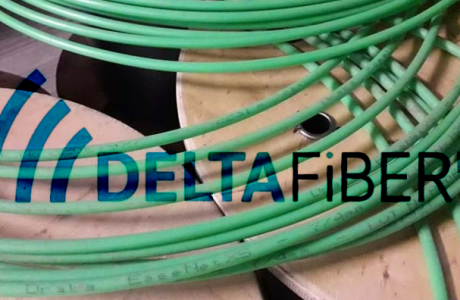 Delta-Fiber-Netwerk-glasvezel
