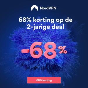 68% korting op NordVPN